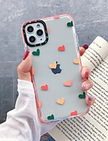cheap -Case For Apple iPhone 11 / iPhone 11 Pro / iPhone 11 Pro Max Shockproof Back Cover Heart TPU