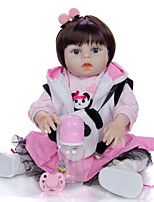 cheap -KEIUMI 19 inch Reborn Doll Baby & Toddler Toy Reborn Toddler Doll Baby Girl Gift Cute Washable Lovely Parent-Child Interaction Full Body Silicone 19D09-C359-H01-S08 with Clothes and Accessories for