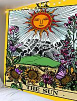 cheap -Mandala Tarot Wall Hanging Tapestry Moon Phase Change Tapestries Bedroom Decor Bedspread Cover Sun Moon Wall Decor