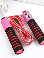 cheap -Jump Rope / Skipping Rope Sports PP Exercise & Fitness Portable Durable Muscular Bodyweight Training Weight Loss For Men Women / Kid's