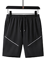 cheap -Men's Hiking Shorts Outdoor Breathable Quick Dry Ventilation Sweat-wicking Shorts Bottoms Black Army Green Light Grey M L XL XXL XXXL