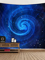 cheap -Beautiful Starry sky Digital Printed Tapestry Decor Wall Art Tablecloths Bedspread Picnic Blanket Beach Throw Tapestries Colorful Bedroom Hall Dorm Living Room Hanging
