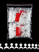 cheap -Fake Nails Oval Nails False Round Nails Half Cover Artificial Press On Nails Natural 500pcs 10 Sizes