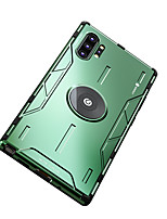 cheap -Case For Samsung  Galaxy S10  Galaxy S10 Plus  Galaxy Note 9 Galaxy Note 10 Galaxy Note 10Plus Galaxy S20 Shockproof Back Cover Solid Colored Silicone Metal