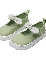 cheap -Girls' Flats Comfort Canvas Little Kids(4-7ys) Black / Pink / Green Summer