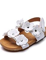 cheap -Girls' Sandals Comfort PU Little Kids(4-7ys) White / Pink Summer