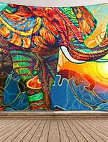 cheap -Elephant Tapestry Mandala Indian Tapestry Wall Hanging Printed Decoration Beach Mat