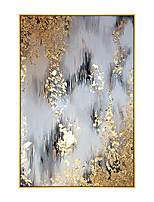 cheap -100% Hand painted By Professional Artist 2020 Handmade Abstract Landscape Oil Painting On Canvas Living Room Home Decor Gold Art