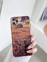 cheap -Case For Apple iPhone 7 8 7plus 8plus X XR XS XSMax SE(2020) iPhone 11 11Pro 11ProMax Shockproof Pattern Back Cover Scenery Cartoon Flower TPU