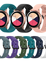 cheap -Silicone Watch Band for Huawei Watch GT2 42mm / Magic Watch 2 42mm / Huawei Watch 2 / Replaceable Bracelet Wrist Strap Wristband