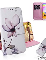 cheap -Case For Samsung Galaxy S20 Galaxy S20 Plus Galaxy S20 Ultra Wallet Card Holder with Stand Full Body Cases Magnolia Flower PU Leather TPU for Galaxy A51 A71 A70E A81 A91 A11 A31 A41 A21