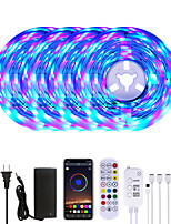 cheap -MASHANG 20M LED Strip Lights RGB LED Light Strip Music Sync 1200LEDs LED Strip 2835 SMD Color Changing LED Strip Light Bluetooth Controller and 24 Key Remote LED Lights for Bedroom Home Party