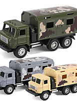 cheap -Construction Truck Toys Pull Back Car / Inertia Car Pull Back Vehicle Military Vehicle Cargo Truck Simulation Music & Light Alloy Mini Car Vehicles Toys for Party Favor or Kids Birthday Gift / Kid's