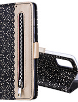 cheap -Case For Samsung Galaxy S7 S6 S6EDGE S7EDGE S8 S8PLUS S9 S9PLUS S10 S10E S10PLUS A72018 A82018 J6 2018 A6 2018 Card Holder Flip Pattern Full Body Cases lacy zipper PU Leather TPU