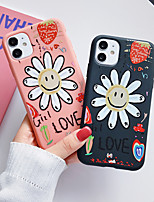 cheap -Case For Apple iPhone 11 / iPhone 11 Pro / iPhone 11 Pro Max Shockproof / Frosted Full Body Cases / Bumper Cartoon Silica Gel