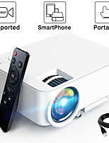 cheap -LITBest T20B LED Projector 2000 lm Android Support