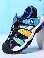 cheap -Boys' Sandals Comfort PU Little Kids(4-7ys) Black / Red / Green Summer