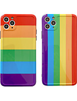 cheap -Case For Apple iPhone 11 / iPhone 11 Pro / iPhone 11 Pro Max Pattern Back Cover Lines / Waves TPU