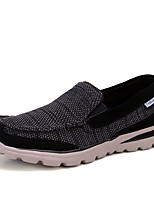 cheap -Men's Summer Daily Sneakers Mesh Black / Army Green / Dark Blue
