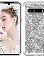 cheap -Case For LG V60  Stylo 6  G9 Shockproof Glitter Shine Back Cover Solid Colored  Glitter Shine TPU  PC