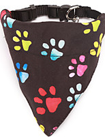 cheap -Dog Cat Bandanas & Hats Dog Bandana Dog Bibs Scarf Cartoon Casual / Sporty Cute Christmas Birthday Dog Clothes Adjustable Costume Cotton S M L XL