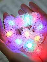 cheap -10m Romantic Dandelion String Lights 100 LEDs Country Style   Warm White RGBWarm Halloween Christmas Party Decorative Garden Lights Wedding 220-240V  1 set