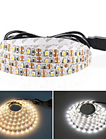 cheap -5M USB LED Strip Lights SMD 2835 DC 5V Flexible Light Lamp 60LEDs / M Desktop Decor Tape TV Background Lighting