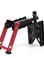 cheap -Bike Pedals Anti-Slip High Strength Durable Aluminium 7075 for Cycling Bicycle Mountain Bike MTB Red