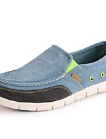 cheap -Men's Summer Daily Loafers & Slip-Ons Mesh Blue / Light Grey / Dark Blue Color Block