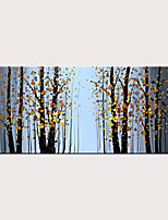 cheap -Landscape Oil Painting Canvas Texture Tree Abstract Contemporary Art Wall Painting Manual Painting Home Office Decoration Canvas Wall Art Painting