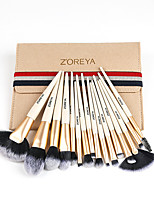 cheap -Professional Makeup Brushes 16pcs Soft Adorable Artificial Fibre Brush Plastic for Foundation Brush Lip Brush Lash Brush Eyebrow Brush Eyeshadow Brush Makeup Brush Set