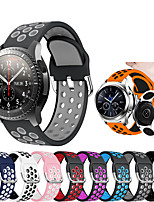 cheap -Silicone Wrist Strap Watch Band for Samsung Galaxy Watch 46mm / Gear S3 Classic / Gear S3 Frontier Replaceable Bracelet Wristband