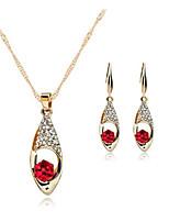 cheap -Women's Earrings Set Earrings Jewelry Red For Wedding Party Daily Festival 1 set