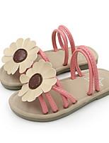 cheap -Girls' Sandals Comfort PVC Little Kids(4-7ys) / Big Kids(7years +) Yellow / Pink Summer
