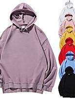 cheap -Women's Fleece Hoodie Sweatshirt Long Sleeve Minimalist Sport Athleisure Hoodie Breathable Soft Comfortable Everyday Use Exercising General Use