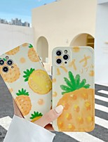 cheap -Case For APPLE  iPhone 7 8 7plus 8plus  XR XS XSMAX  X SE  11  11Pro   11ProMax Pattern Back Cover Food Word Phrase Cartoon TPU