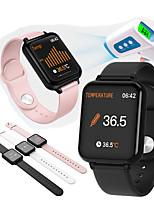 cheap -B57t Smart Watch Body Temperature Heart Rate Fitness Tracker Bracelet Waterproof Sport Pedometer Blood Pressure Smartwatch