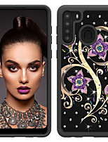 cheap -Case For Samsung A01 A11 A21 A51 A71 S8 S8Plus S9 S9Plus S10 S10E S10Plus S20plus S20 S20Ultra Note 9 10 10Plus 10Pro Shockproof Pattern Back Cover Butterfly Animal Flower TPU PC
