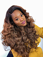 cheap -3 Bundles Hair Weaves Brazilian Hair Body Wave Human Hair Extensions Human Hair 300 g Weave 10-24 inch Brown Natural