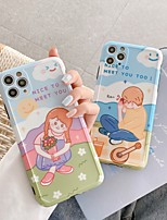 cheap -Case For Apple iPhone 7 8 7plus 8plus X XR XS XSMax SE(2020) iPhone 11 11Pro 11ProMax Shockproof Pattern Back Cover  Cartoon TPU