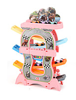 cheap -Rail Car Toy Racing Track Set Race Car Simulation Plastic Mini Car Vehicles Toys for Party Favor or Kids Birthday Gift 32*24*8 6+6 pcs / Kid's
