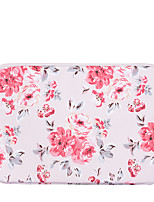 cheap -11.6 Inch Laptop / 12 Inch Laptop / 13.3 Inch Laptop Sleeve PU Leather Floral Print / Flower for Women Waterpoof Shock Proof