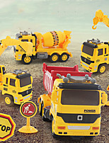 cheap -Excavator Toy Construction Truck Toys Engineering Vehicle Crane Dump Truck Blender Sounds Lights Wireless Control Plastic ABS Mini Car Vehicles Toys for Party Favor or Kids Birthday Gift / Kid's
