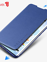 cheap -Case For Huawei  P30  Huawei P30 Pro Shockproof Flip  Magnetic Full Body Cases Solid Colored PU Leather  TPU