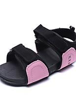 cheap -Girls' Sandals Comfort PU Little Kids(4-7ys) Pink / Orange / Gray Summer