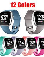 cheap -Watch Band for Fitbit Versa / Fitbi Versa Lite / Fitbit Versa2 Fitbit Modern Buckle Silicone Wrist Strap