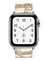 cheap -Watch Band for Apple Watch Series 5 / Apple Watch Series 4/3/2/1 Apple Classic Buckle Genuine Leather Wrist Strap