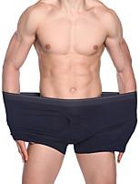 cheap -Men's Basic Boxers Underwear - Plus Size Mid Waist Red Royal Blue XXXXL XXXXXL XXXXXXL