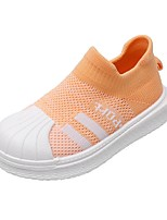 cheap -Girls' Flats Comfort Elastic Fabric Little Kids(4-7ys) Black / Blue / Orange Summer