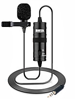 cheap -BOYA BY-M1 3.5mm Lavalier Lapel Microphone for Canon Nikon DSLR Camcorders Studio microphone for iPhone Andriod Phone Zoom H1N